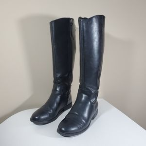 Target Universal Thread riding boots black size 8